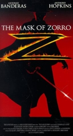 Фільм The mask of Zorro - Постери