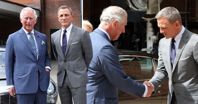 Новости: Дэниэл Крэйг встретился с принцем Чарльзом