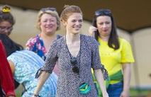 Жена Кита Харингтона повеселилась на фестивале
