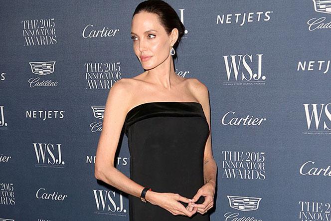 Новости: Анджелина Джоли набирает вес, чтобы спасти брак