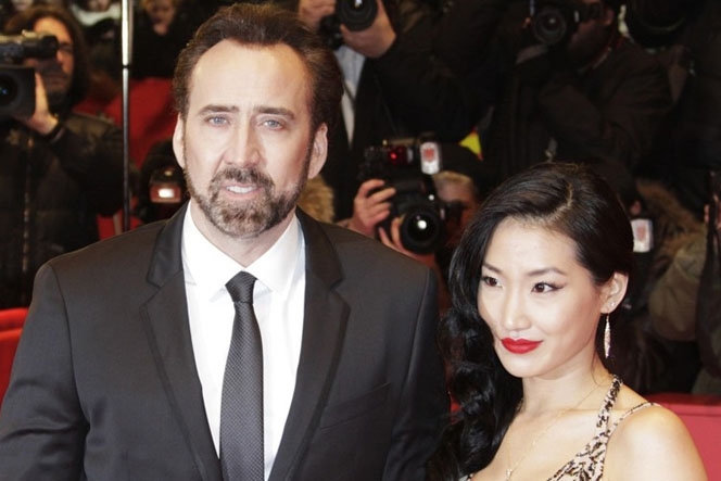 Новости: Николас Кейдж развелся с женой из-за ее измены