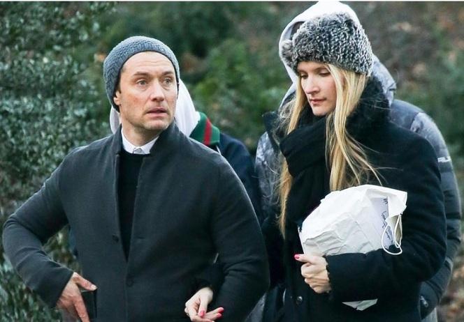 Новости: Возлюбленная Джуда Лоу не беременна