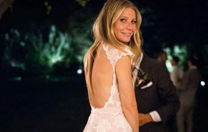 Новини: Перші фото з весілля Гвінет Пелтроу і Бреда Фелчака