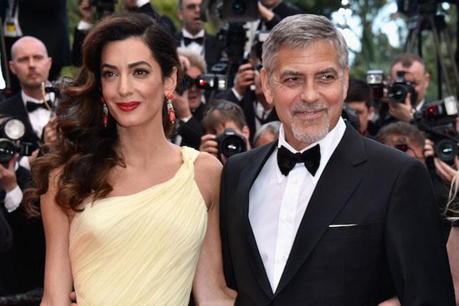 Новости: Беременная Амаль Клуни выставила мужа из спальни
