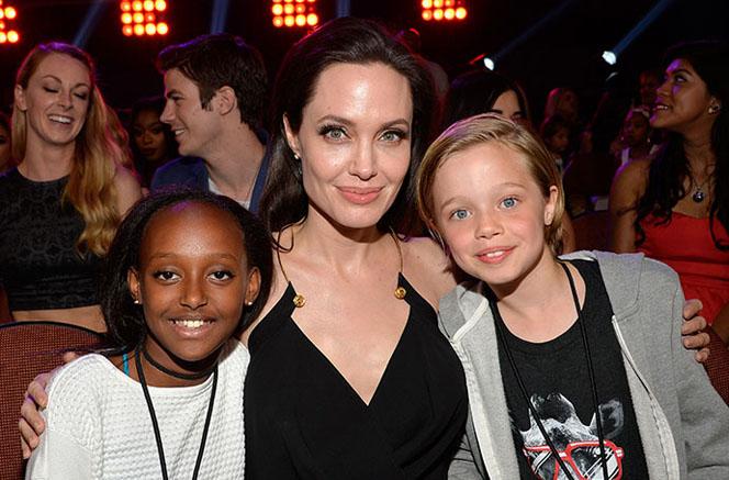 Новости: Анджелина Джоли не хотела быть матерью?