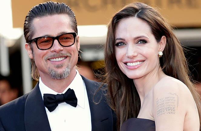 Новости: Анджелина Джоли уличила Брэда Питта во флирте с няней?