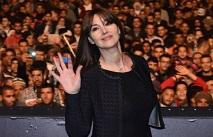 Беллуччи посетила кинофестиваль в Марракеше