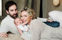 Кэтрин Хейгл показала новорожденного сына