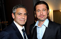 Джордж Клуни намерен свести Брэда Питта и Сандру Баллок