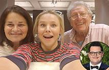 Кристен Белл спасла от урагана родителей коллеги-актера
