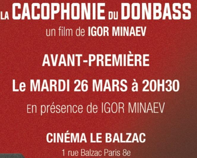 Новости: «Какофония Донбасса» и Бальзак