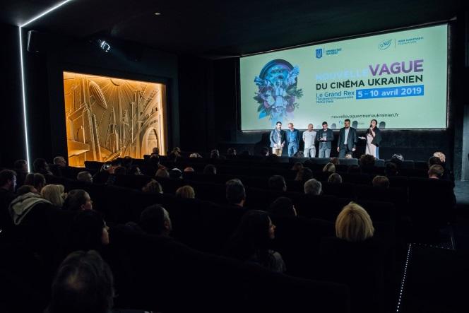 Новини: Українське кіно - в  Le Grand Rex Paris