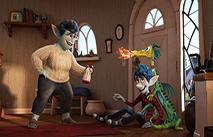 """Казковий світ в """"Уперед"""" від Pixar. Український трейлер"""