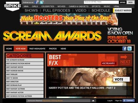 Новости: «Гарри Поттер» превзошел всех на Scream Awards