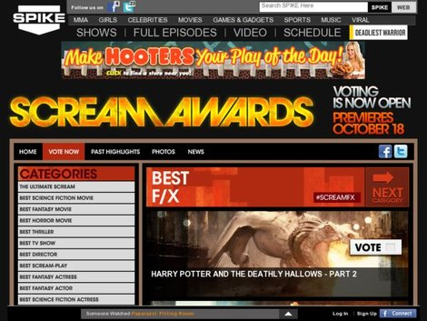 «Гаррі Поттер» перевершив усіх на Scream Awards