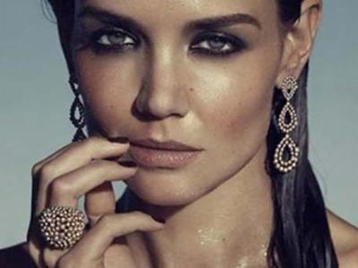 Новости: Кэти Холмс разделась для рекламы украшений (ФОТО)