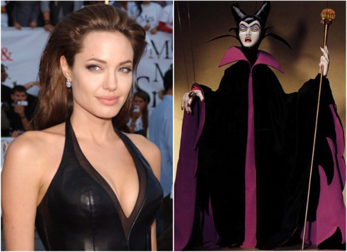 Новости: Анджелина Джоли усыпит Спящую Красавицу