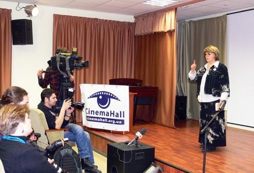 Новости: Алла Сурикова дала мастер-класс в Киеве