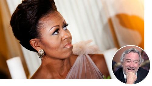 Новости: Роберт Де Ниро оскорбил жену Обамы расистской шуткой