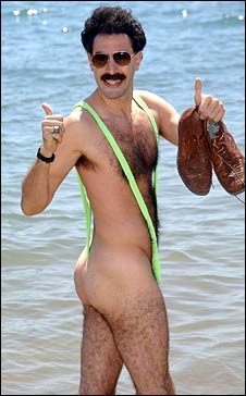 Новости: Мужской купальник Бората не пускают на рынок