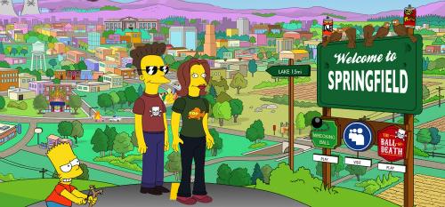 """Новости: Спрингфилд из """"Симпсонов"""" находится в Орегоне"""