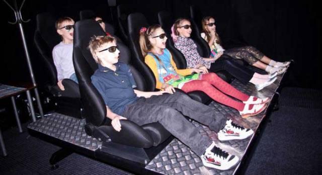 Новости: Корейцы построят 4D-кинотеатры для американцев