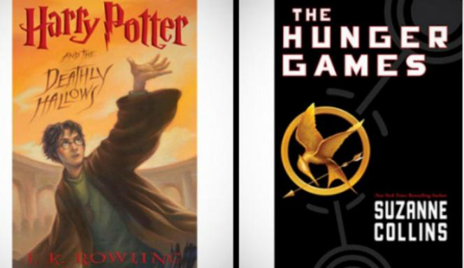 """Новости: """"Гарри Поттер"""" и """"Голодные игры"""" любимые книги молодежи"""