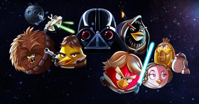 Новости: Angry Birds станут джедаями