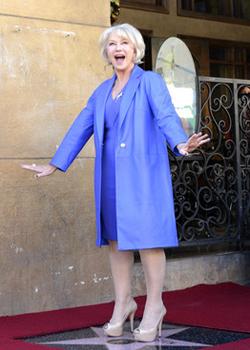 Новости: Звезду Хелен Миррен открыли на Аллее славы