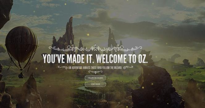 Новости: В страну Оз можно путешествовать с Google Chrome