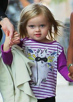 Новости: Дочь Джоли и Питта получит гонорар $3000 за неделю