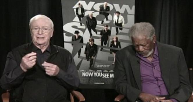 Новости: Морган Фриман заснул во время интервью