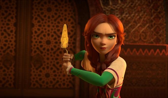 Вweb-сети появился трейлер украинского мультфильма «Украденная принцесса»