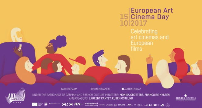 Новости: День арт-кино Европы в кинотеатре «Жовтень»