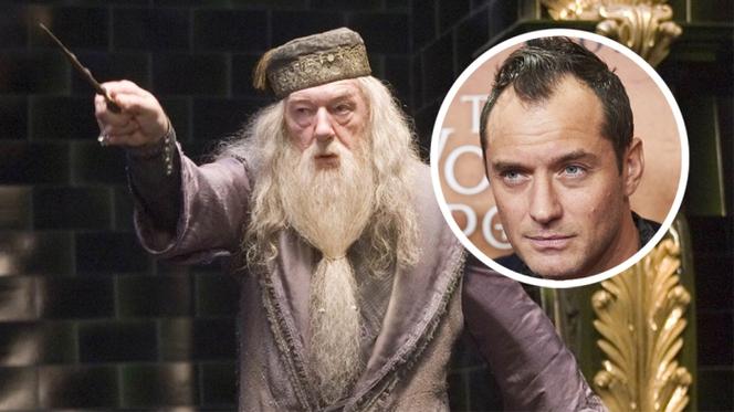 Новости: Первый взгляд на Джуда Лоу в роли Дамблдора
