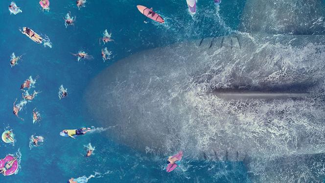 """Новости: Стэйтем против доисторической акулы. Трейлер """"Мег"""""""