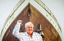 В Китае создадут дубликат «Титаника»