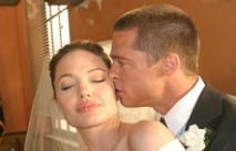 Бред Питт и Анджелина Джоли поженились