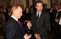 Леонардо ДиКаприо хочет сыграть Путина
